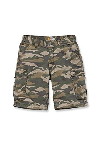 Carhartt Camo Hose (Carhartt 100279 Shorts Rugged Khaki Camo W38)