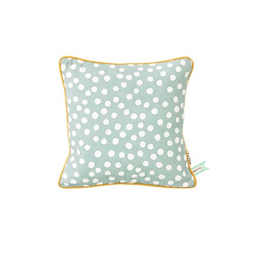 Dots Cushion - Dusty Blue
