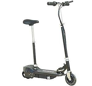trottinette patinette lectrique e scooter pliable avec si ge noir neuf 68 sports et. Black Bedroom Furniture Sets. Home Design Ideas
