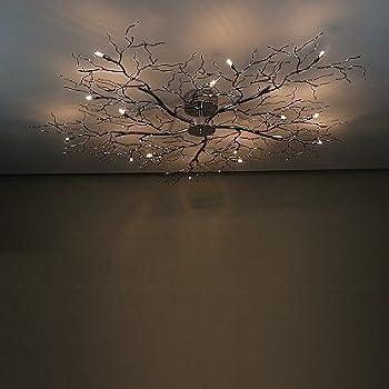 eclairage plafonnier arbre xxl avec grand effet d 39 eclairage luminaires et eclairage. Black Bedroom Furniture Sets. Home Design Ideas