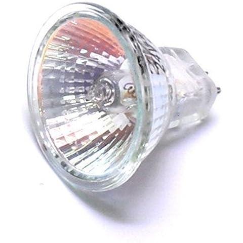 12Vmonster (Confezione da 10) 20W 24V MR11GU4Base lampada alogena 20W Bipin Lampadine 24Volt