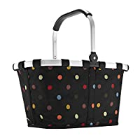 Carrybag Polkadots, Polyester, schwarz dots, 48 x 29 x 28 cm , 1 size