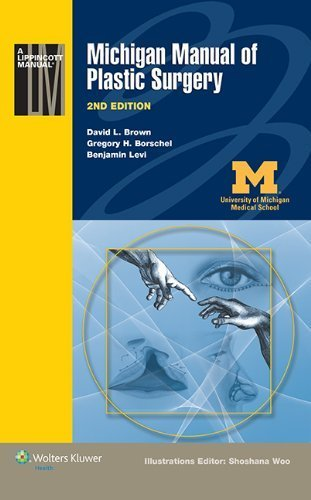 Michigan Manual of Plastic Surgery (Lippincott Manual Series (Formerly known as the Spiral Manual Series)) 2nd by Brown MD, David L., Borschel MD, Gregory H., Levi M.D., Dr. (2014) Paperback
