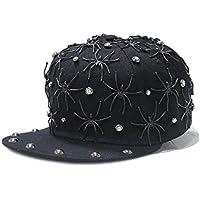 Other Spinnen-Niet-Dekorations-Hip-Hop-Baseballmütze männlicher und Weiblicher Chao-Mann-Straßentanz flach entlang Kappe