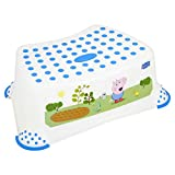 PeppaPigStep Stool with Non Slip Feet  - George Pig