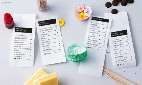 Cake-Pops – Sti(e)lvoll naschen: Einfache Rezepte für Kuchen-Lollis, witzige Deko-Ideen und die besten Gelingtipps (GU Just cooking) - 3