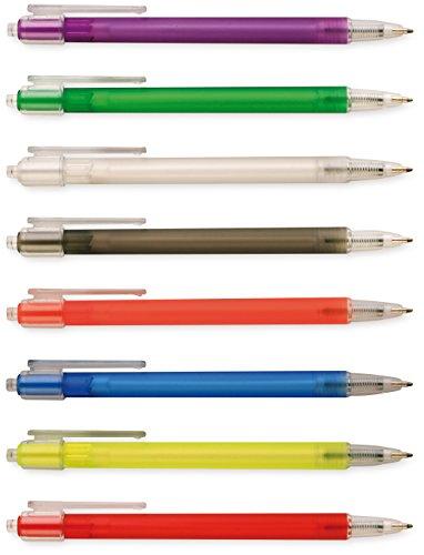 Penna a sfera con chiusura a scatto. Confezione da 100 PZ.