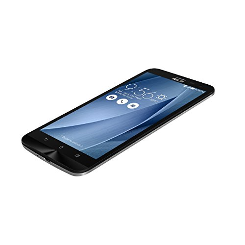 ASUS ZenFone 2 Laser ZE601KL - Smartphone Android de 6   Full HD  c  mara 13 Mp  32 GB  Octa-Core 1 7 GHz  3 GB RAM  dual SIM   color plata