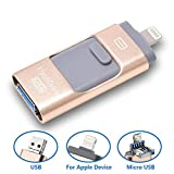 Rybozen 32GB USB Flash Drive Compatible with iPhone iPad Andriod PC, PenDrive Chiavetta Memoria Archiviazione esterna di espansione