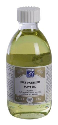 Lefranc & Bourgeois Malmittel, Mohnöl für Ölfarben in 250 ml Flasche