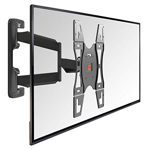 VOGEL\'S BASE 45M - TV Wandhalterung für 32-55 Zoll Fernseher, Wandhalter, 180° Schwenkbar & Neigbar, Fernsehhalterung für die Wand, VESA 400x400, Universelle Kompatibilität, Halterung max. 30 kg
