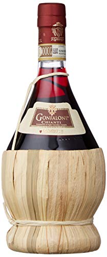 Trambusti Gonfalone Chianti DOCG Flask 2017/2018 Red Wine 75 cl (Case of 3)