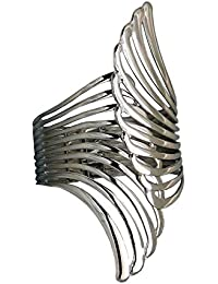 Aabhu Gold Plated Butterfly Shaped Adjustable Cuff Kada Bracelet For Women And Girls