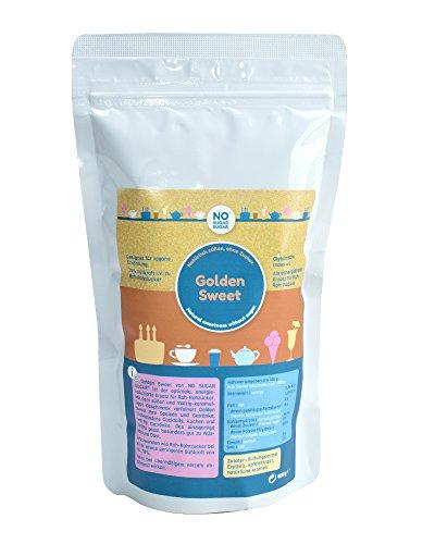 NO SUGAR SUGAR | Golden Sweet (400g) Ersatz für Rohrzucker aus Erythrit