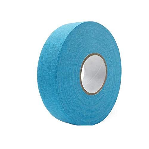 Premium Sport-Tape Hockeyschläger-Tape - Volleyball Praktische rutschfeste Bandage - Premium Athletic Zinkoxid Trainer Tape für Sport und Medizin - 2,5 cm x 25 m Free Size himmelblau -