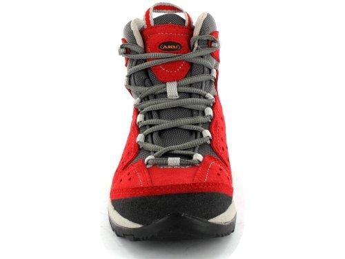 AKU ARRIBA HI KID GTX 318, Scarponcini da escursionismo e trekking unisex bambino Rosso