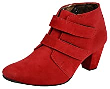 9314293c0472 Exotique Women s Red High Top Boots - 37 EU