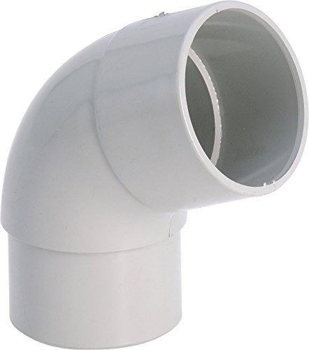 Coude 87°30 M/F gris - diamètre 80 mm - Girpi
