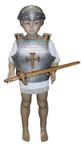 Idena 8210418 – Ritterrüstung für Kinder, 4-teilig - 4
