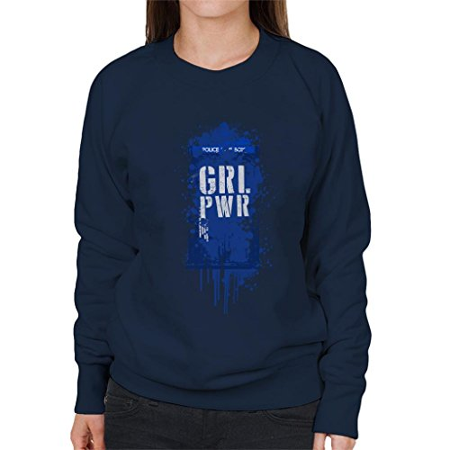 Doctor Who Girl Power Women's Sweatshirt