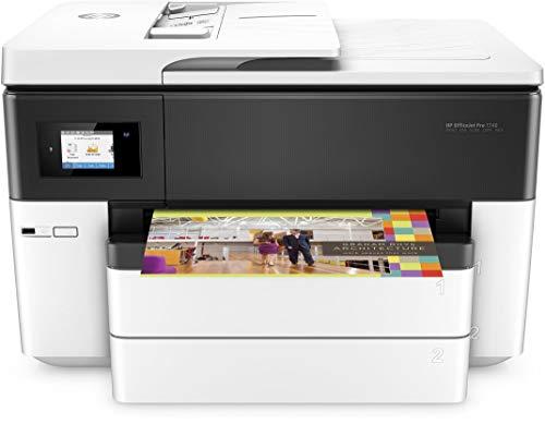 HP OfficeJet Pro Pro 7740 Wide Format AiO Getto termico d'inchiostro A3 Wi-Fi Nero, Bianco