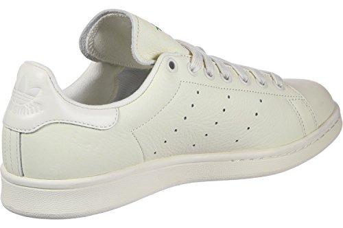 adidas Herren Stan Smith Sneaker Elfenbein (Chalkwhite/chalkwhite/chalk Pearl S18)