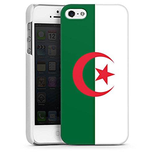 Apple iPhone 6 Housse Étui Silicone Coque Protection Algérie Drapeau Ballon de football CasDur blanc