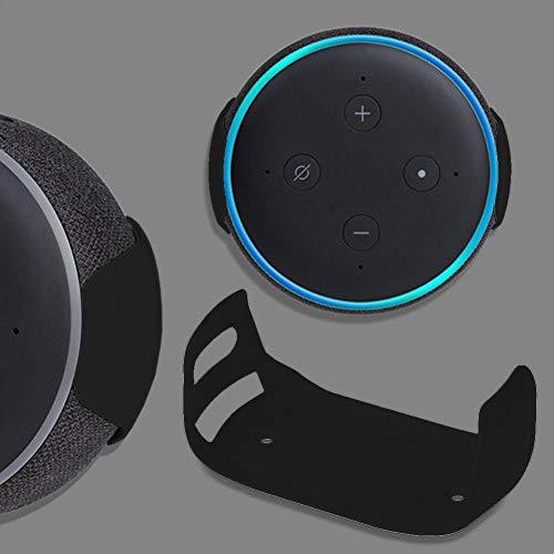 Standfuß für Wandhalterung, kompatibel mit Echo Dot 3, eine platzsparende Lösung für Ihre Smart-Home-Lautsprecher, Smart-Speaker-Home-Sprachassistenten Einfachheit Starke Mobilität
