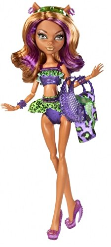 Mattel Monster High Schwimm Kollektion Clawdeen Wolf Puppe exklusiv (High Monster Clawdeen Wolf)