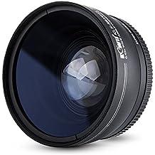 Kiwifotos–KLS serie 0,45x Conversor gran angular con tapa de la lente, bolsa y lente paño de limpieza para Canon 1300d, 1200d, 1100d, 760d, 750d, 700d, 80d, 70d, 60d, 7d, 6d, 5DS, 5DS R, 6d, 5d Mark III, 1d etc. cámaras