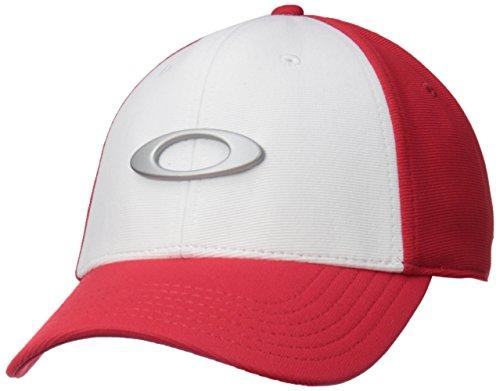 Oakley Tincan 3-in-1 Cap, White/Red, S/M