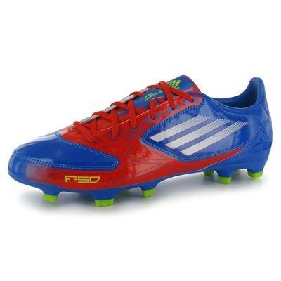 adidas  F10 Trx Fg,  Scarpe da calcio uomo Arancione rosso 46.0EU/ 29.5cm, Blu (prime blue/core energy/white), 44 2/3 Blu (prime blue/core energy/white)