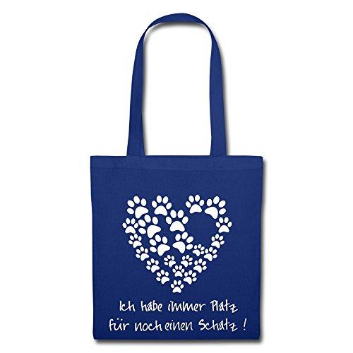 IchLiebeHunde.com, Borsa a tracolla donna blu royal