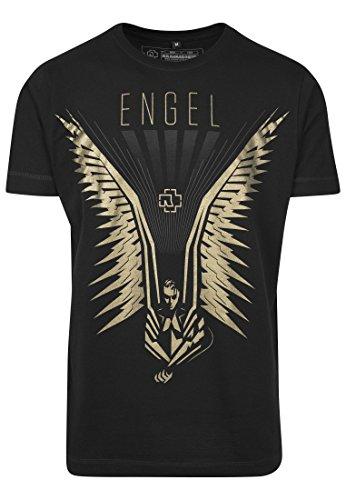 Rammstein Herren Flügel Tee T-Shirt, Schwarz, M