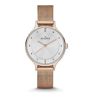 Skagen Damen-Uhren Analog Quarz Edelstahl 32002592