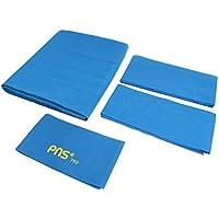 perfk Mesa De Billar Pns760 Worsted Fieltro De Billar para Mesa De 9 Pies - Azul