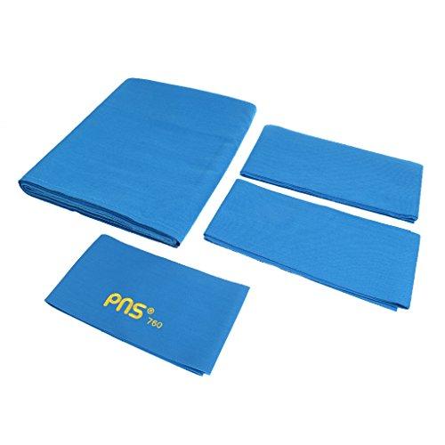 Gazechimp PNS760 Standard Billardtuch für 9ft Tisch (278 x 155 cm), Gute Verarbeitung, Billard Club Billardtuch - Blau