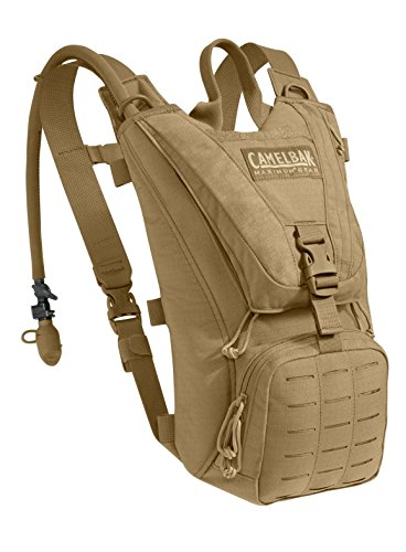 CamelBak Ambush Hydration Pack, Coyote Brown (62581), 2015 Model, with 100oz / 3.0L Mil-Spec Antidote Reservoir by CamelBak
