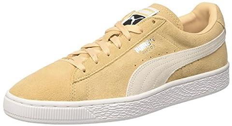 Puma Suede Classic +, Sneakers Basses Mixte Adulte, Beige (Natural Vachetta-Puma White 08), 37 EU
