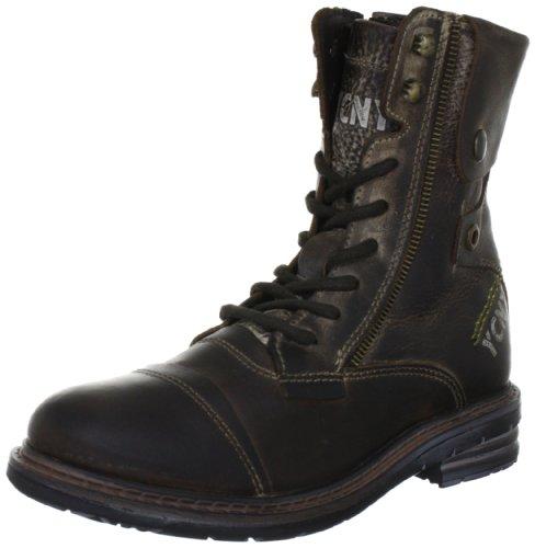 Yellow Cab SOLDIER W Y25049, Damen Biker Boots, Braun (Tan), EU 40