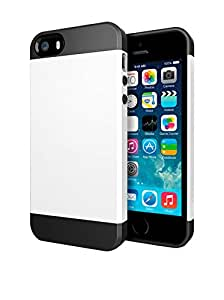 Unotec Armor Coque pour Apple iPhone 5/5S Blanc