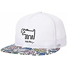 WITHMOONS Gorras de béisbol Gorra de Trucker Sombrero de Snapback Hat Keith  Haring Dog Patch Meshed 95e723a9c1f