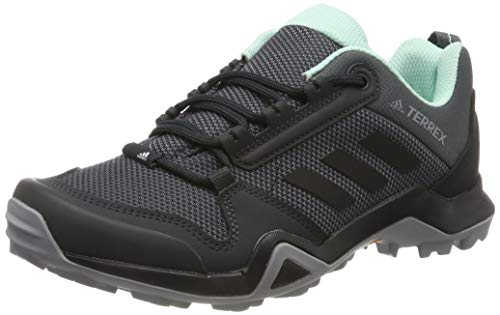 adidas Damen Terrex AX3 W Trekking-& Wanderhalbschuhe, Grau (Grey/Core Black/Clear Mint 0), 39 1/3 EU
