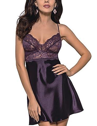 Gorsenia K098/1 Divine sensual elegant chemise – made in EU,
