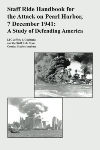 Staff Ride Handbook for the Attack on Pearl Harbor, 7 December 1941: A Study of Defending America