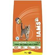 Iams Dry Cat Food Adult Lamb, 3 kg - Pack of 3