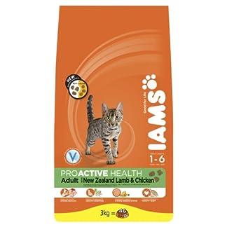 Iams Dry Cat Food Adult Lamb, 3 kg - Pack of 3 14