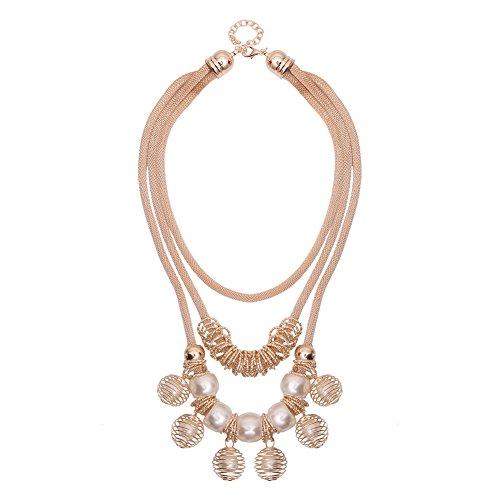 Perlen Halskette Cascading Kostüm Ornamente National Wind KC (Nationalen Kostüme)