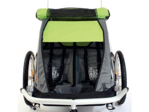 Croozer Sun Cover Kid for 2 grün