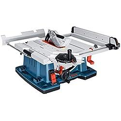 Bosch Professional Scie sur table GTS 10 XC (2100 W, Ø de la lame : 254mm, rangement pour lame de scie supplémentaire)